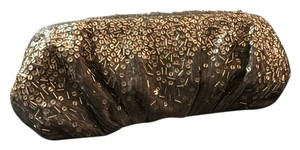 Inge Christopher Silver and gold Clutch