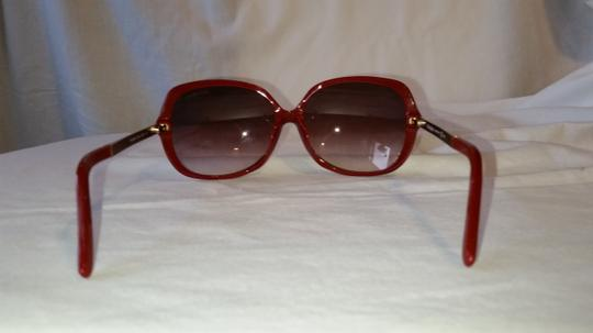 Saint Laurent YSL6329/F/S Red Metal and Plastic Round Sunglasses Image 2