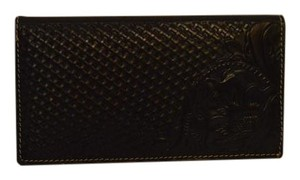 Patricia Nash Designs Patricia Nash Italian Leather Tooled Woven Varesse Bifold Wallet