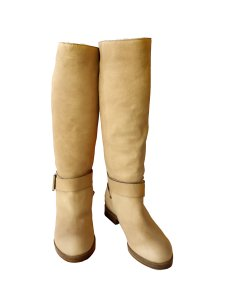 Chlo Beige Boots