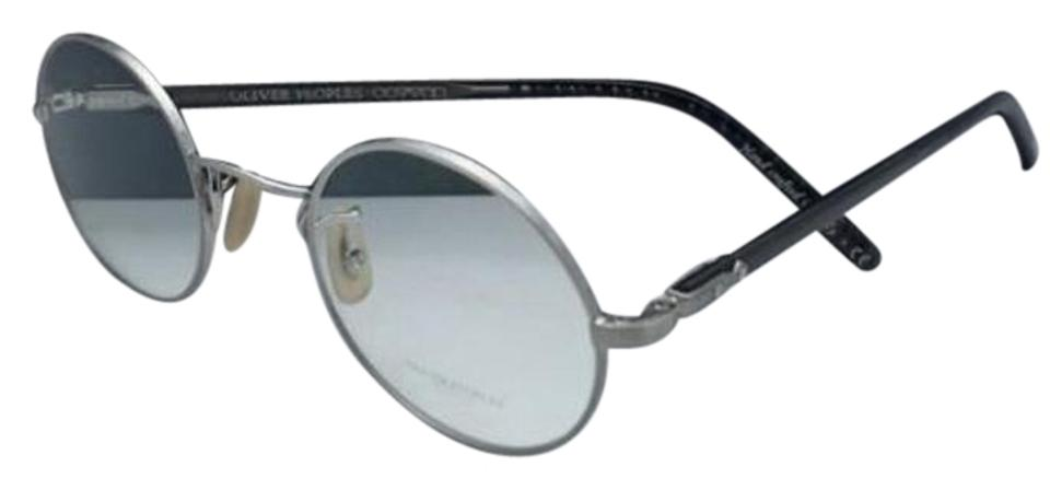 addf2228923 Oliver Peoples New OLIVER PEOPLES Eyeglasses OVERSTREET 1190 5063 46-22  Silver Image 0 ...