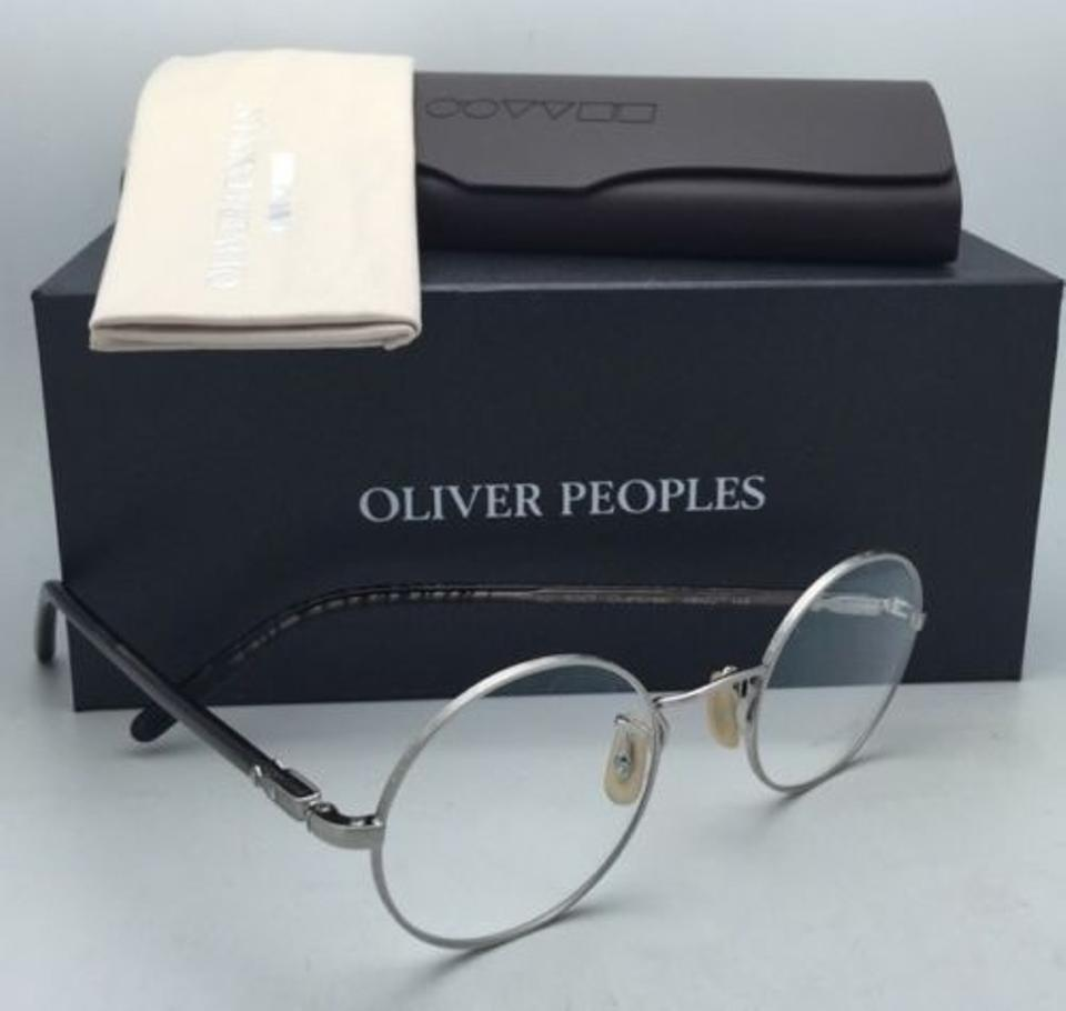 281903762f7 Oliver Peoples New OLIVER PEOPLES Eyeglasses OVERSTREET 1190 5063 46-22  Silver Image 10. 1234567891011