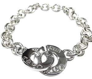 Tiffany & Co. Tiffany And Company 1837 Interlocking Circle Clasp 7 Inch Bracelet. From The 1837 Collection!!!!