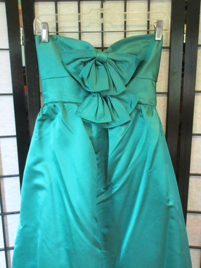 Emerald Green Vintage Ballgown Empire Waist Formal Bridesmaid/Mob Dress Size 0 (XS) Image 2