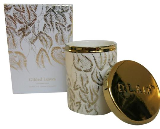 Preload https://img-static.tradesy.com/item/20194291/dl-and-co-white-and-gold-soleil-candle-gilded-leaves-rare-botanic-candle-0-1-540-540.jpg