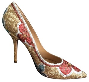 Dolce&Gabbana Mosaic Multicolor Pumps