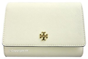 Tory Burch Tory Burch Robinson Medium Flap Wallet New Ivory