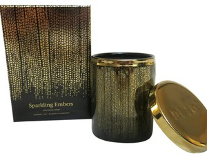 D.L.& Co. Black Soleil Candle - Sparkling Embers Rare Botanic Candle