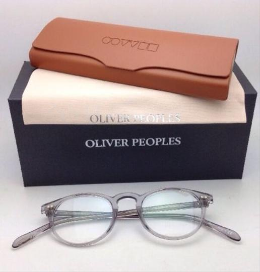 Oliver Peoples New OLIVER PEOPLES Eyeglasses RILEY R OV 5004 1132 45-20 Workman Grey Image 2