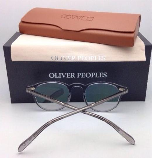 Oliver Peoples New OLIVER PEOPLES Eyeglasses RILEY R OV 5004 1132 45-20 Workman Grey Image 4
