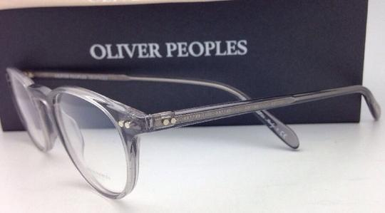Oliver Peoples New OLIVER PEOPLES Eyeglasses RILEY R OV 5004 1132 45-20 Workman Grey Image 5