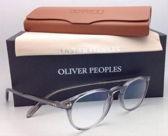 Oliver Peoples New OLIVER PEOPLES Eyeglasses RILEY R OV 5004 1132 45-20 Workman Grey Image 7