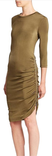 Preload https://img-static.tradesy.com/item/20194412/army-green-set-zip-detail-fitted-jersey-knee-length-cocktail-dress-size-6-s-0-1-650-650.jpg