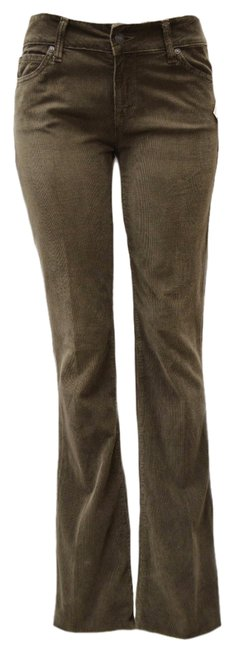 Item - Dark Taupe Vintage Cord Pants Flare Leg Jeans Size 31 (6, M)