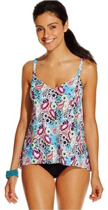 Swim Solutions SWIM SOLUTIONS MULTICOLOR TUMMY CONTROL TANKINI SET SWIMSUIT 10
