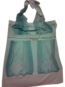 Evil Twin mint Halter Top
