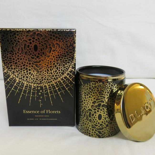 Item - Black & Gold Soleil Candle - Essence Of Florets Rare Botanic Candle Other