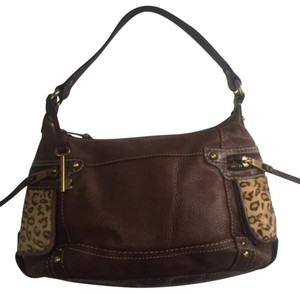 Fossil Satchel in Brown
