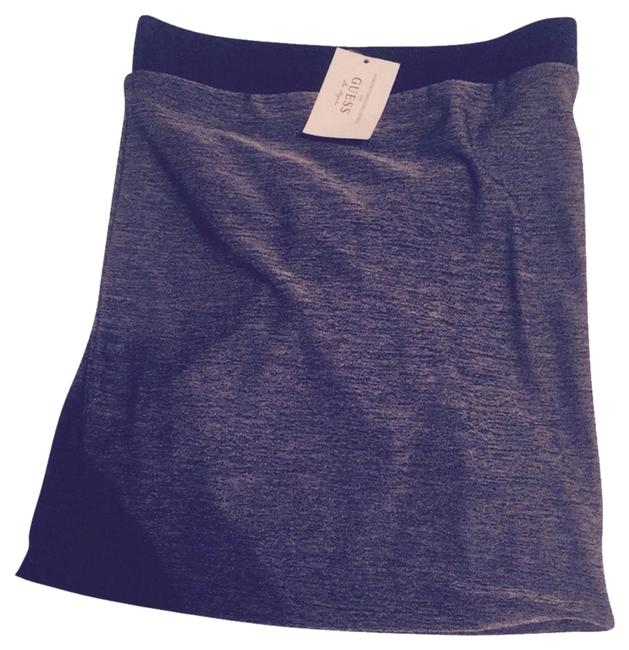 Guess Skirt Grey And Black