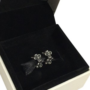PANDORA 2 Pandora flower spacers charms 790857