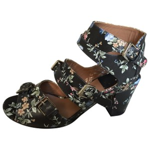 Laurence Dacade Dacade Italian Leather Floral Multi Sandals