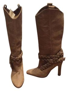 Manolo Blahnik Brown Boots