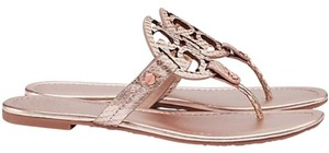 Tory Burch Millers Rose Gold Sandals