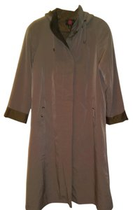 Gallery Petites Color Trench Coat