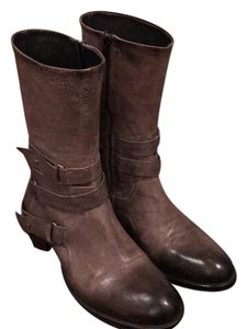 Vera Wang Lavender Label Gray taupe Boots