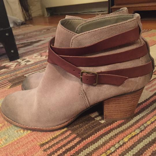 Dolce Vita Gray distressed Boots Image 5