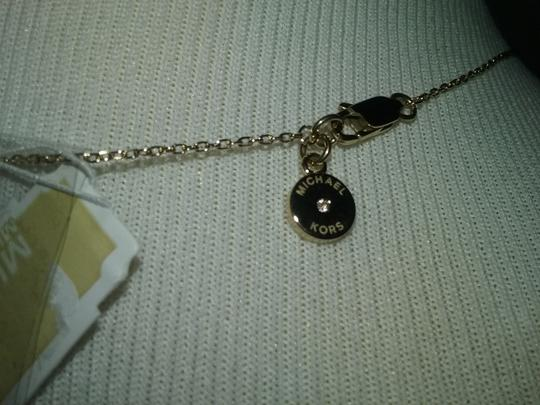 Michael Kors Crystal Cylinder Necklace & Cylindrical Earrings Image 3