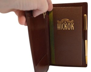 Hickok Leather Hickock leather wallet/agenda