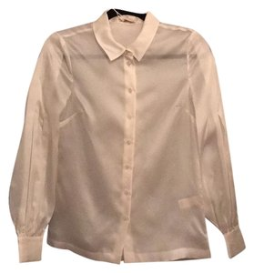 Kate Spade Button Down Shirt Cream/ off white