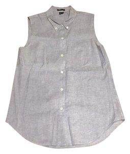 Theory Button Down Shirt Chambray
