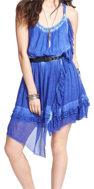 Preload https://img-static.tradesy.com/item/20195049/free-people-blue-high-low-short-casual-dress-size-4-s-0-2-650-650.jpg