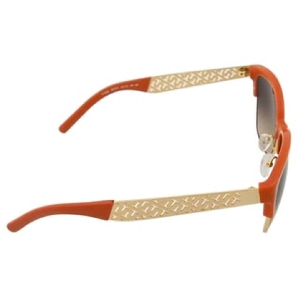 0cce175933c Tory Burch Orange Gold Sunglasses - Tradesy