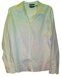 Eddie Bauer Button Down Shirt White