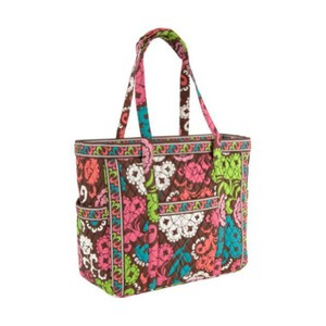 Vera Bradley Get Carried Away Tote Travel Luggage Lola Travel Bag