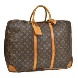 Louis Vuitton Monogram Luggage Travel Brown Travel Bag