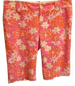 Lilly Pulitzer Bermuda Shorts Pink & white
