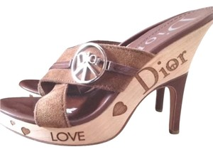 Dior Brown Mules