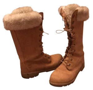 Timberland winter boots Tan Boots