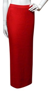St. John Maxi Skirt Red