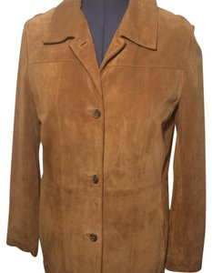 Marc New York Tan Leather Jacket