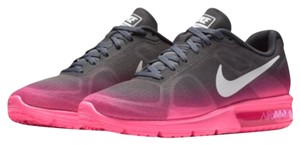 Nike Gray and Pink Athletic