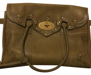 Mulberry Satchel in Olive Green