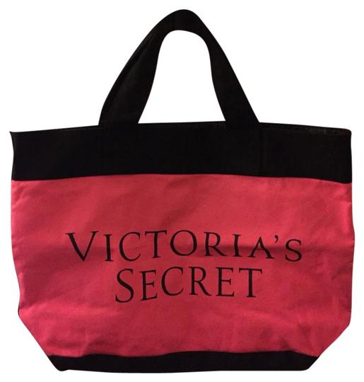 Preload https://img-static.tradesy.com/item/20195587/victoria-s-secret-tote-pink-red-black-beach-bag-0-1-540-540.jpg