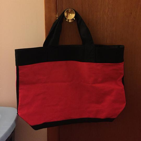 Victoria's Secret Pink, Red, Black Beach Bag