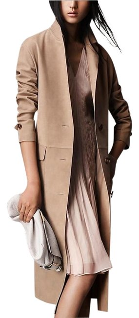 Preload https://img-static.tradesy.com/item/20195727/burberry-honey-london-womens-suede-leather-us-eu-38-trench-coat-size-4-s-0-1-650-650.jpg