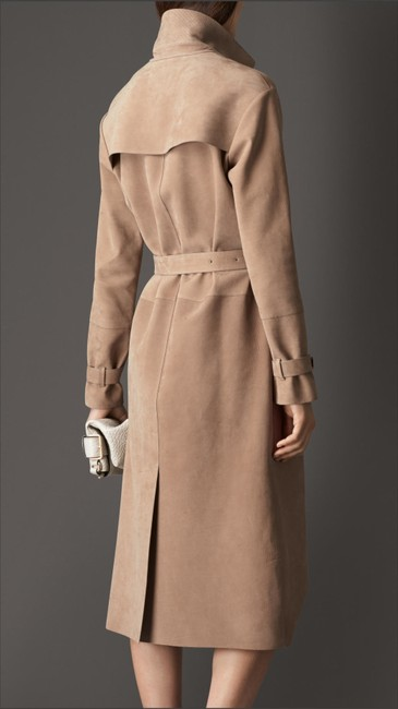 Burberry New Suede Trench Coat